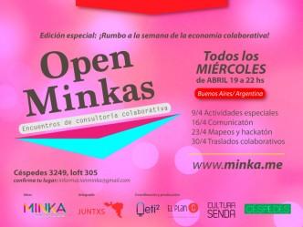 Open Minkas abril