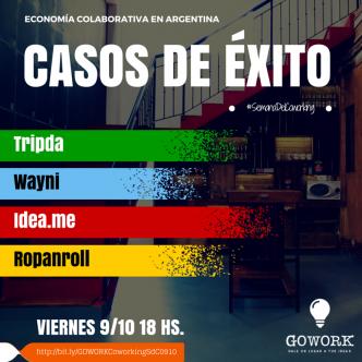 Economía colaborativa en Argentina - casos de éxito