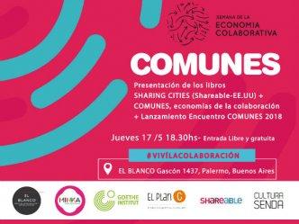Presentación libros Sharing Cities y Comunes